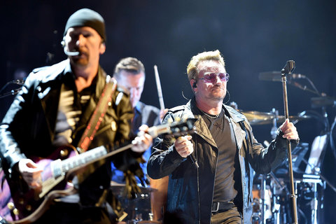 U2 canceled its Saturday night concert in Paris after the attacks.